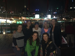 Caught up with some of the girls! Darling Harbour on Australia Day