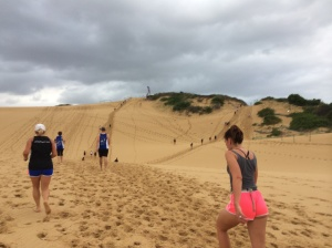 Up and down 7 MASSIVE sand dunes